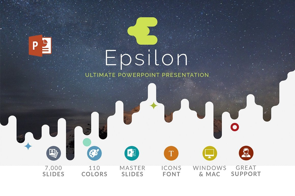 20 Powerpoint Templates with 81% OFF - Epsilon 01