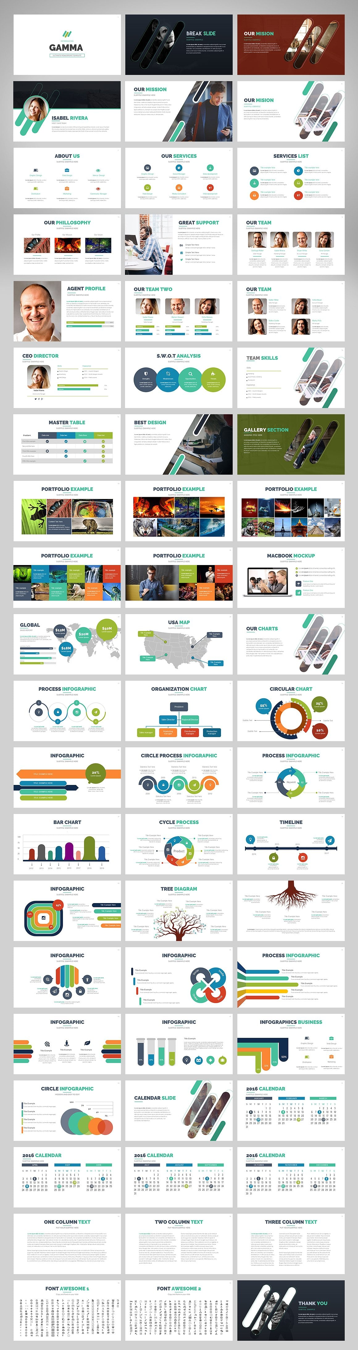 20 Powerpoint Templates with 81% OFF - Gamma 02