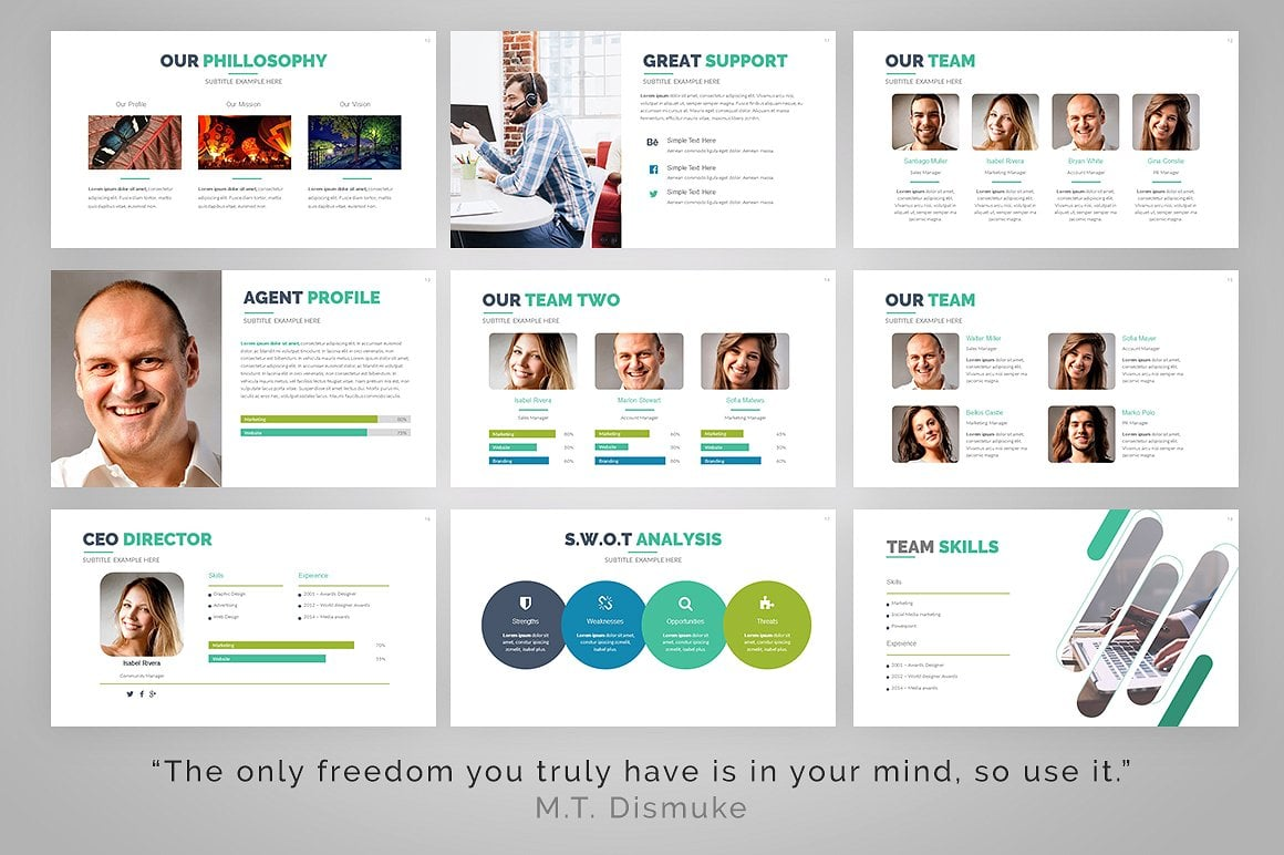 20 Powerpoint Templates with 81% OFF - Gamma 04