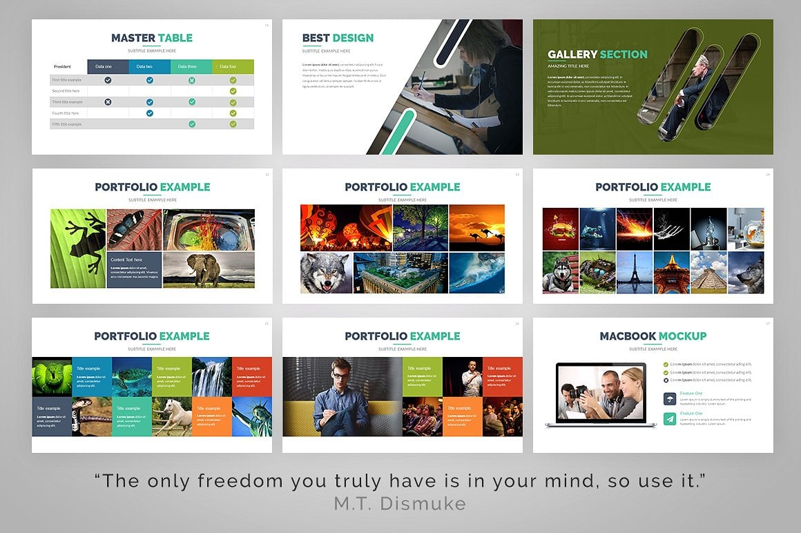 20 Powerpoint Templates with 81% OFF - Gamma 05