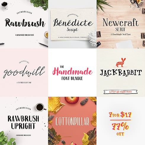 Hand Drawn Fonts cover image.