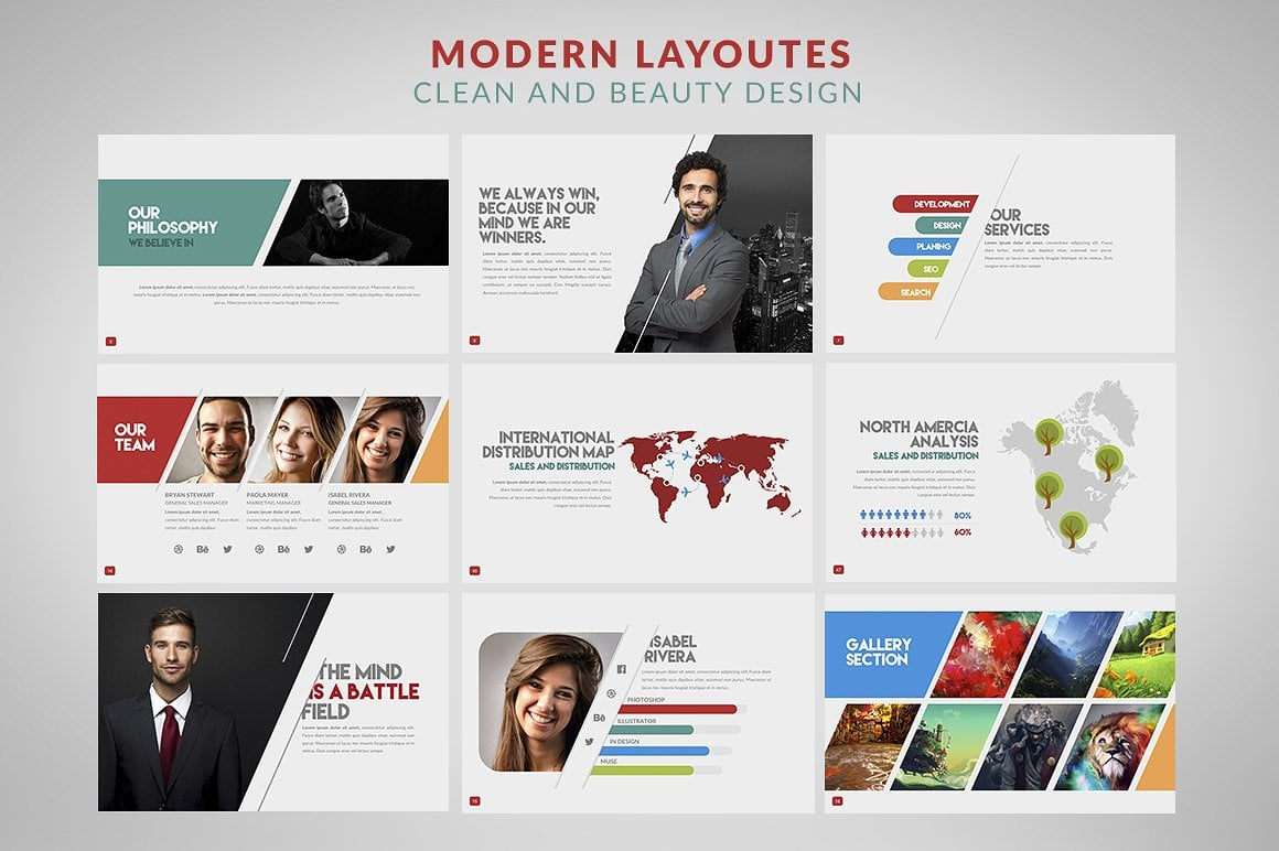 20 Powerpoint Templates with 81% OFF - Inertia 03