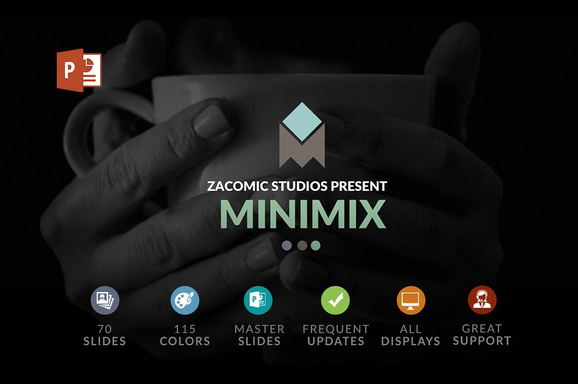 20 Powerpoint Templates with 81% OFF - Minimix 01