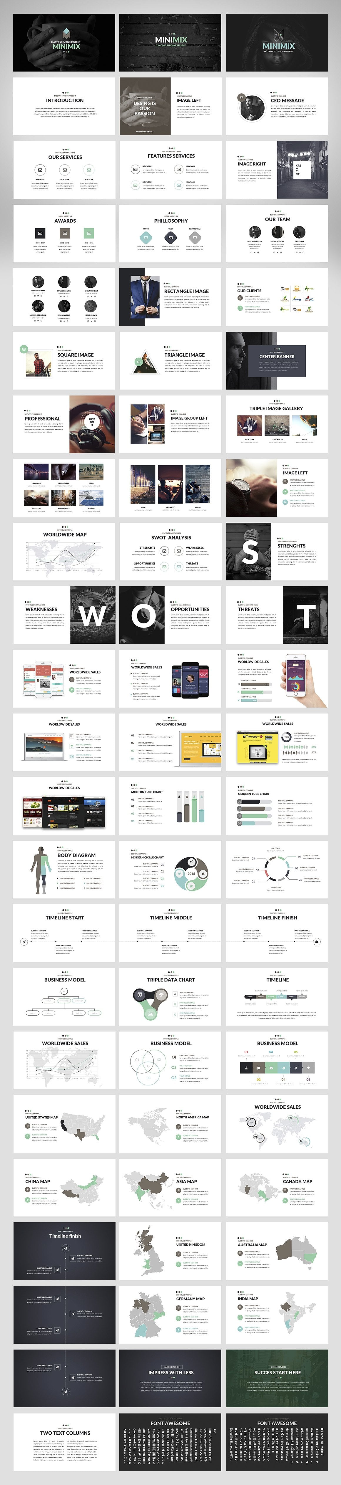 20 Powerpoint Templates with 81% OFF - Minimix 02
