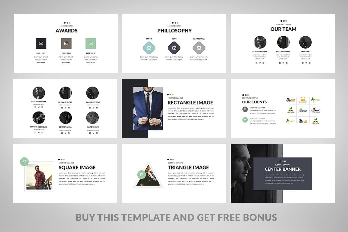20 Powerpoint Templates with 81% OFF - Minimix 03