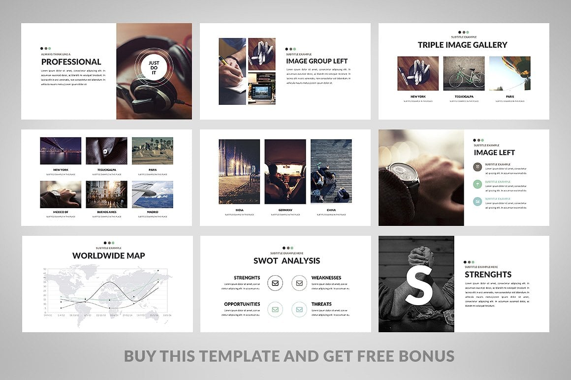 20 Powerpoint Templates with 81% OFF - Minimix 04