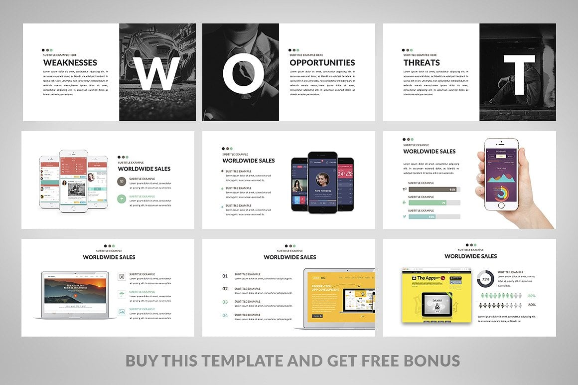 20 Powerpoint Templates with 81% OFF - Minimix 05