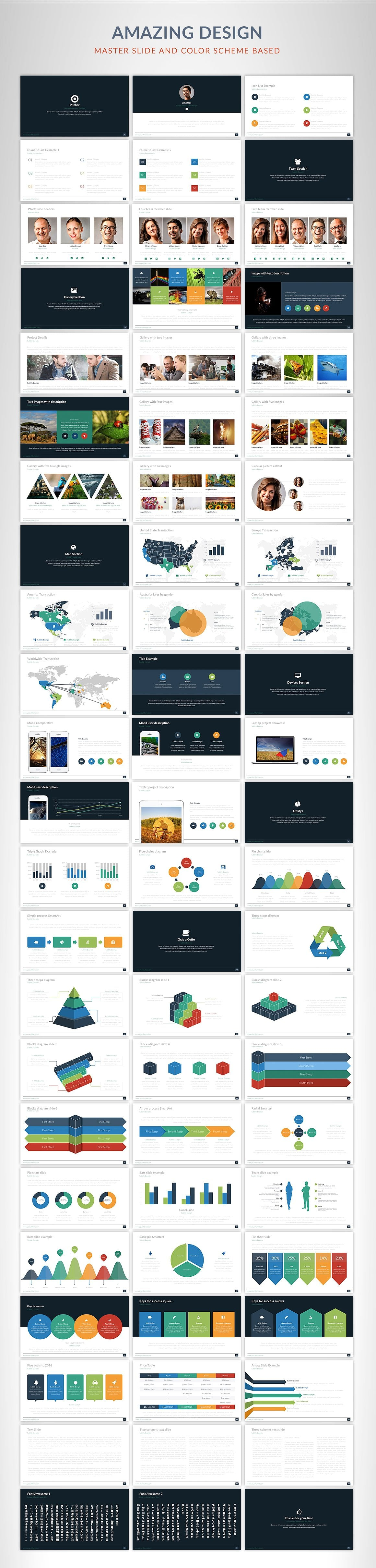 20 Powerpoint Templates with 81% OFF - Pitcher 02