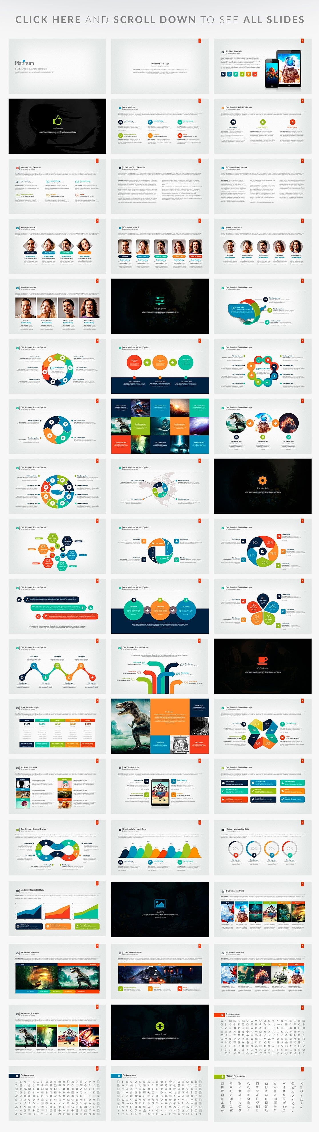 20 Powerpoint Templates with 81% OFF - Platinum 02