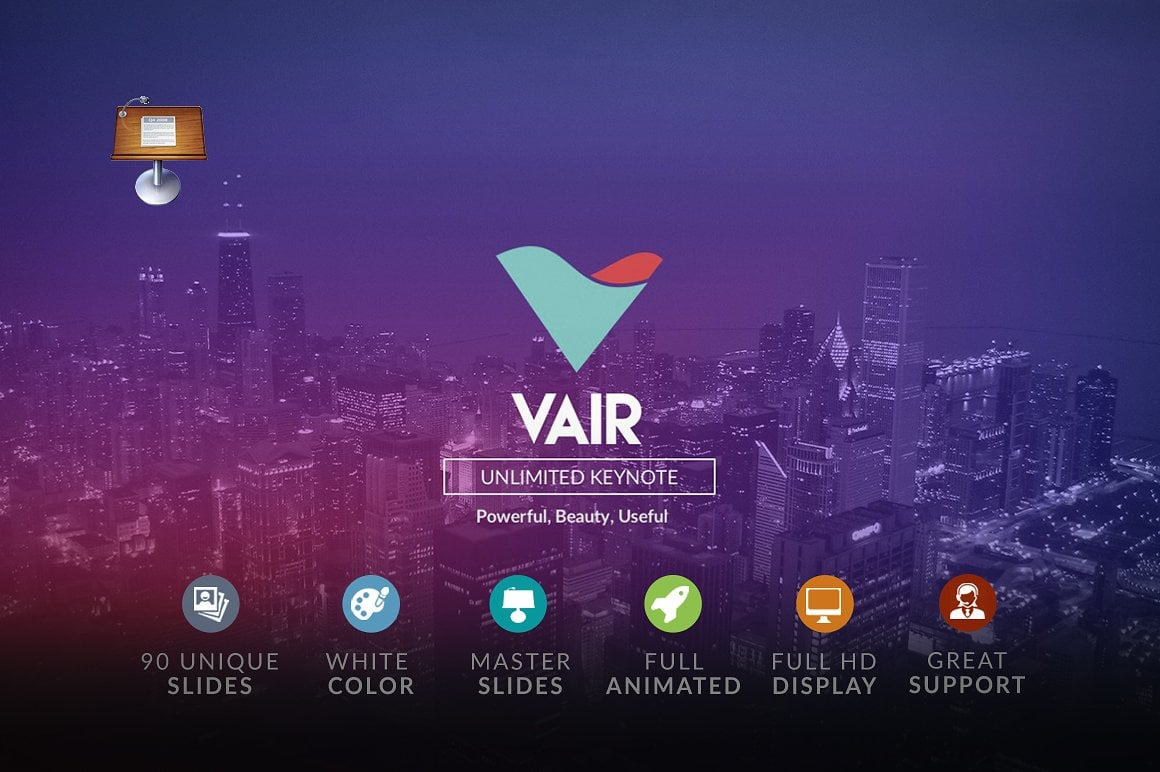 20 Powerpoint Templates with 81% OFF - Vair 01