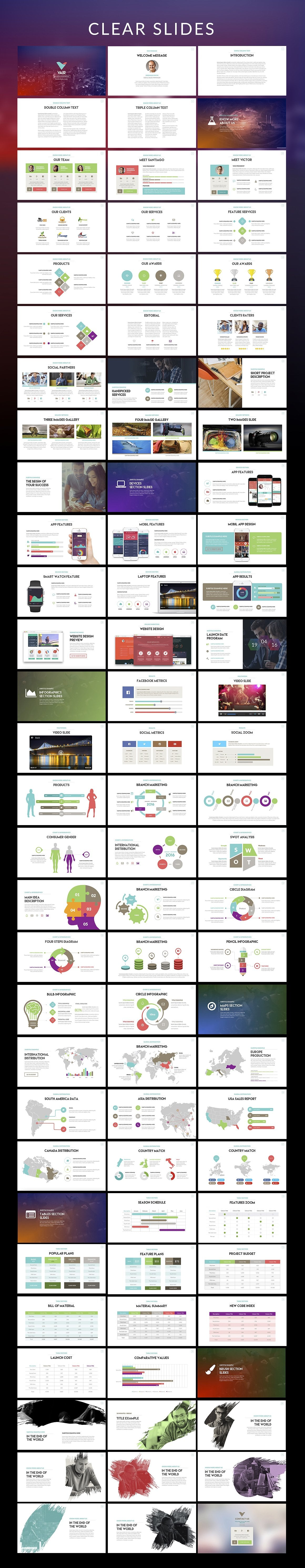 20 Powerpoint Templates with 81% OFF - Vair 02