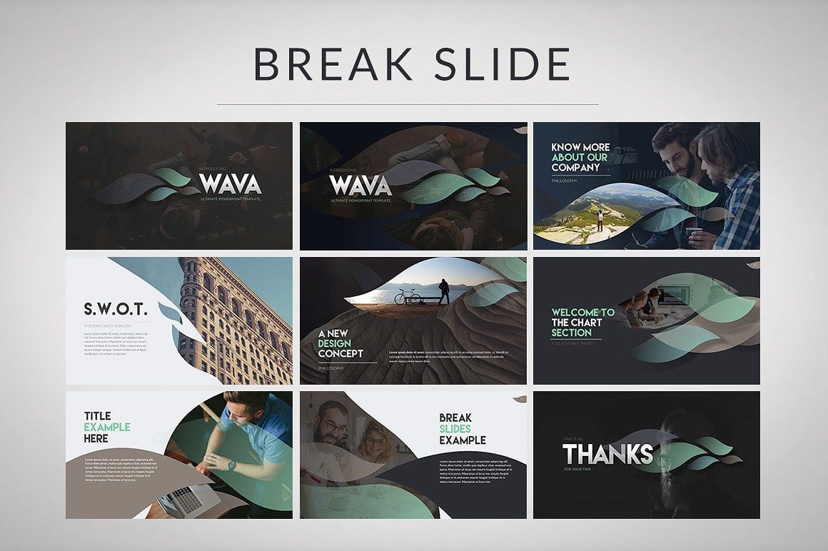 20 Powerpoint Templates with 81% OFF - Wava 04