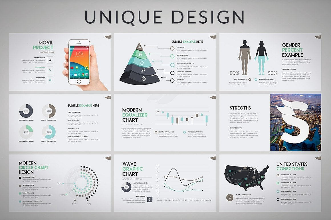 20 Powerpoint Templates with 81% OFF - Wava 05
