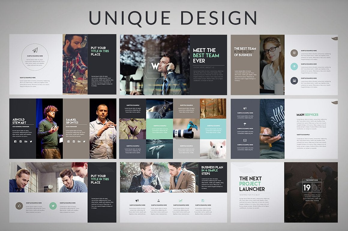 20 Powerpoint Templates with 81% OFF - Wava 06