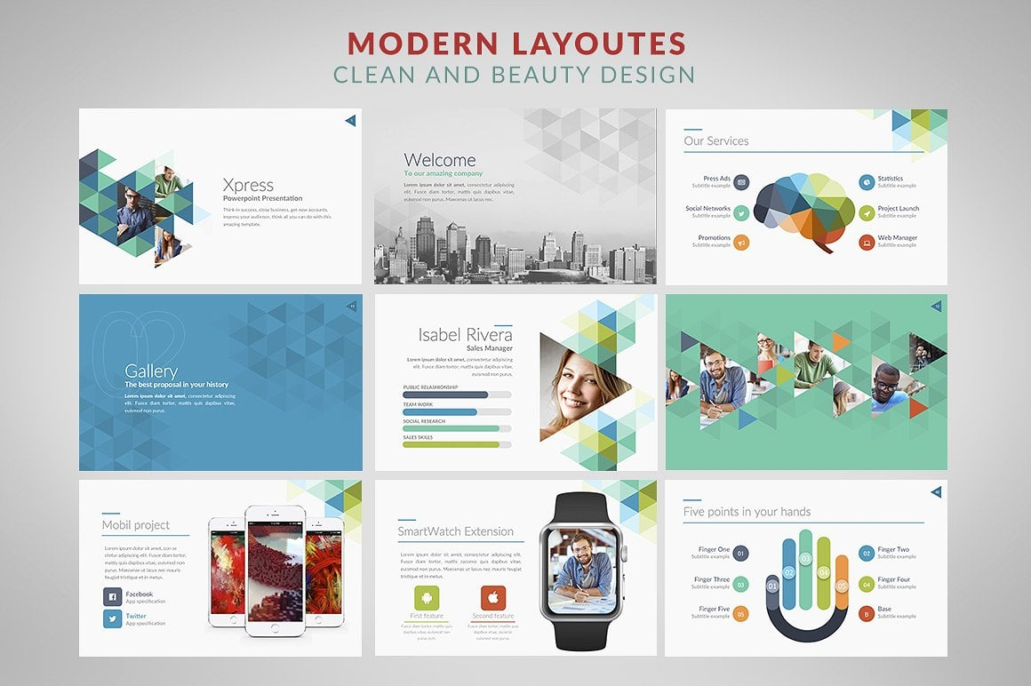 20 Powerpoint Templates with 81% OFF - Xpress 03