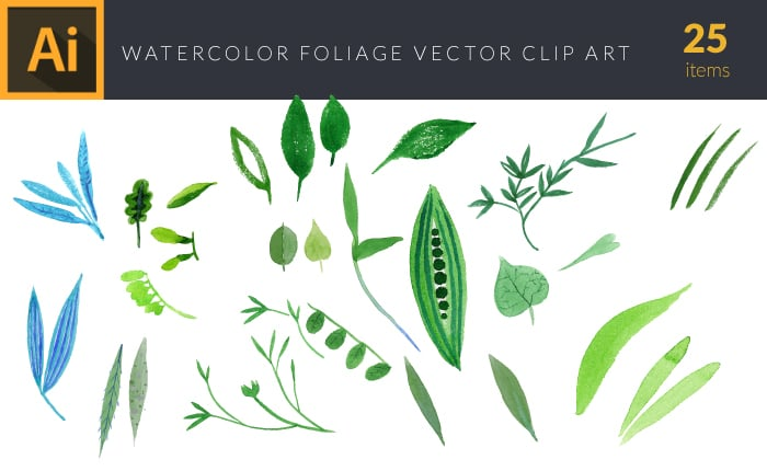 The Gorgeous Watercolor Collection with Bonus and handmade elements – only $22
