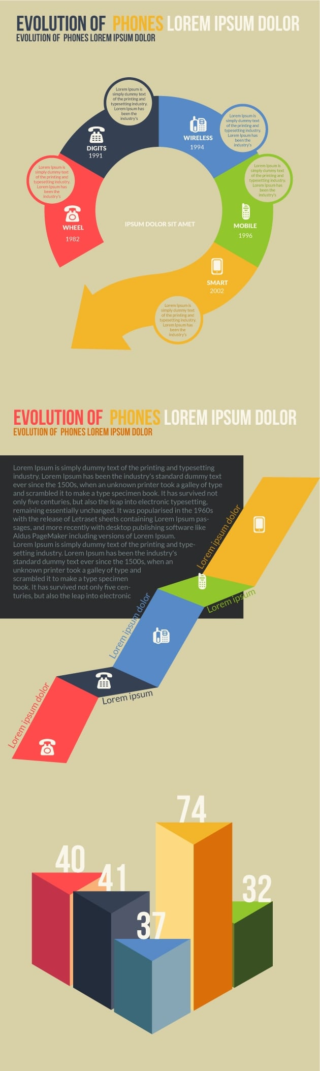 The Super Premium Infographic elements Bundle