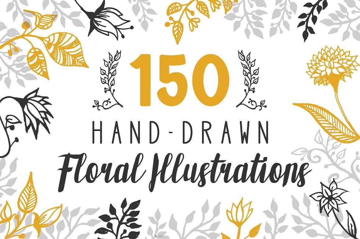 🌼 Floral Pattern Trends in 2020: PNG, Vector, Vintage, Wallpapers - prev1 01