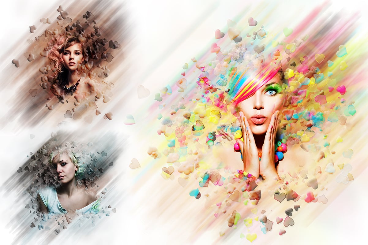 38 Dispersion PhotoShop Actions with 50% OFF - 12