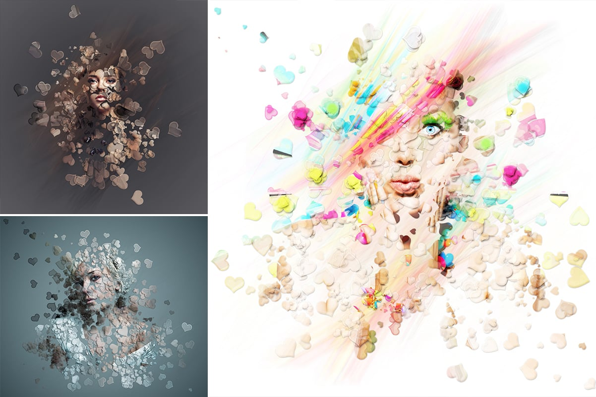 38 Dispersion PhotoShop Actions with 50% OFF - 13
