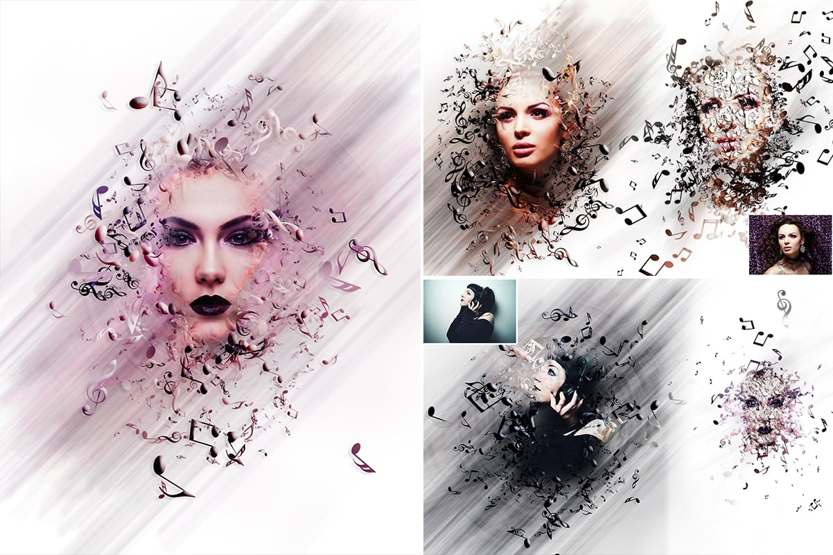 38 Dispersion PhotoShop Actions with 50% OFF - 14