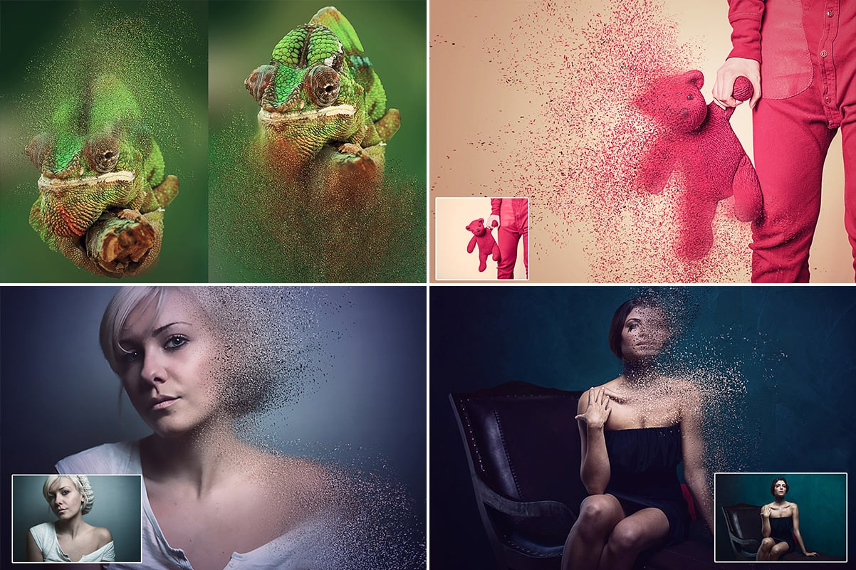 38 Dispersion PhotoShop Actions with 50% OFF - 15
