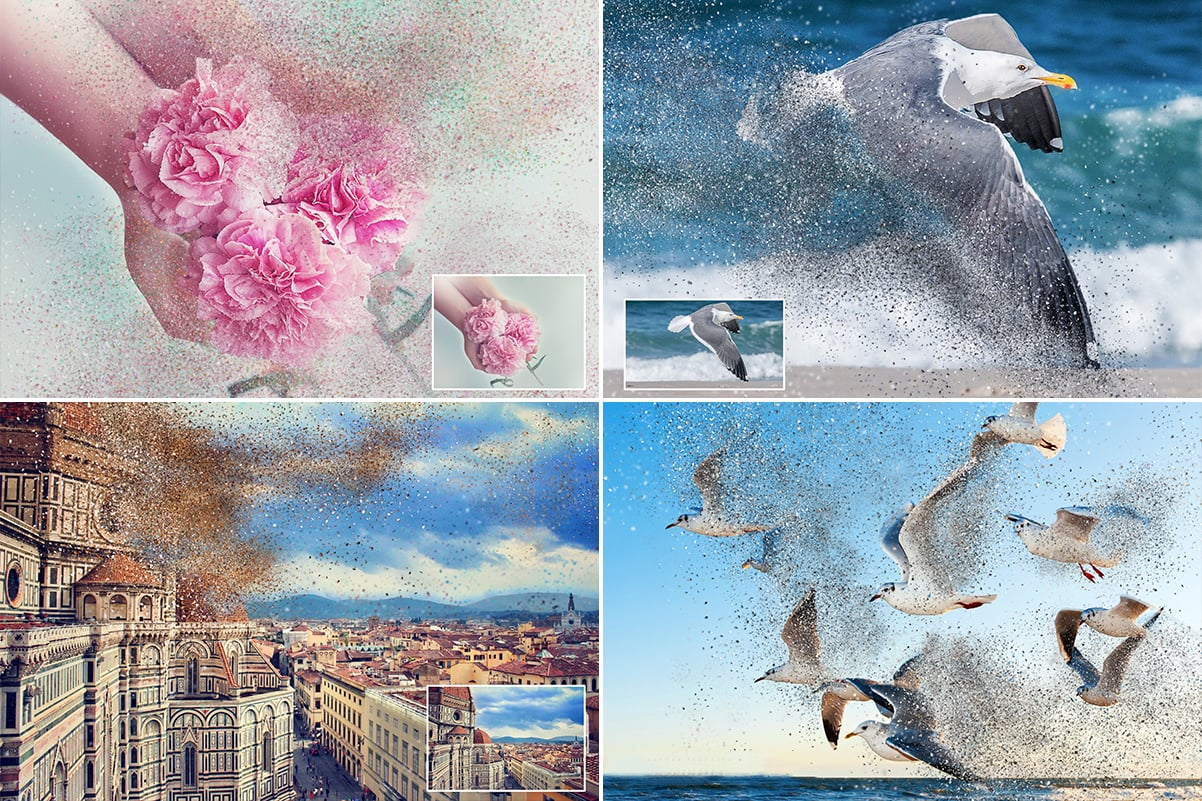 38 Dispersion PhotoShop Actions with 50% OFF - 18