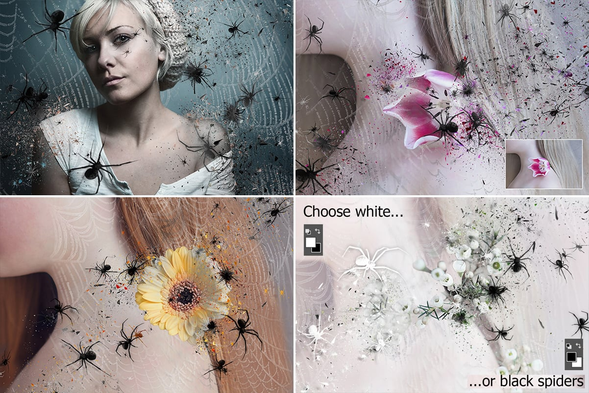 38 Dispersion PhotoShop Actions with 50% OFF - 20