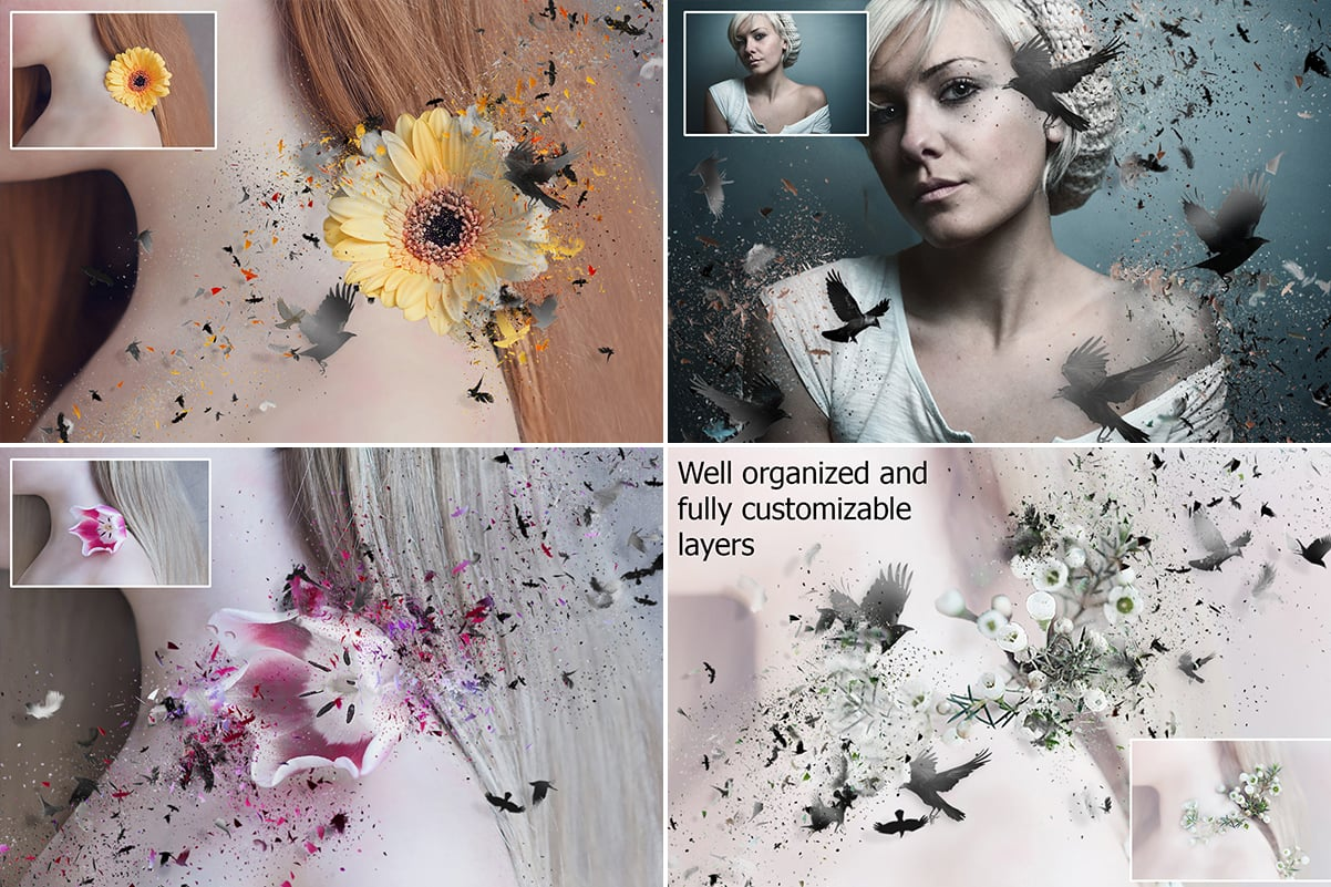 38 Dispersion PhotoShop Actions with 50% OFF - 21 1
