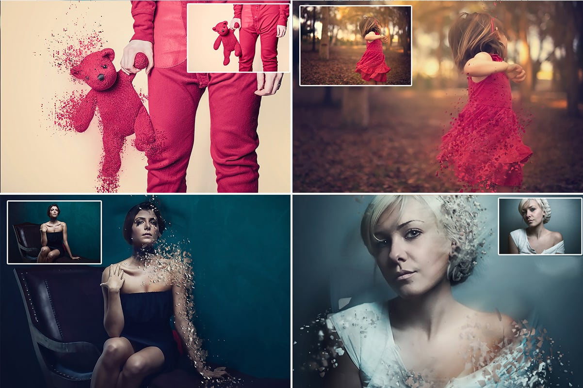 38 Dispersion PhotoShop Actions with 50% OFF - 24