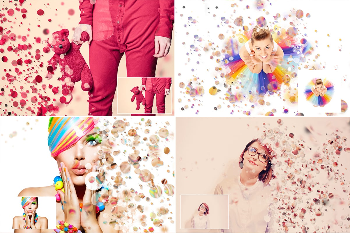 38 Dispersion PhotoShop Actions with 50% OFF - 27