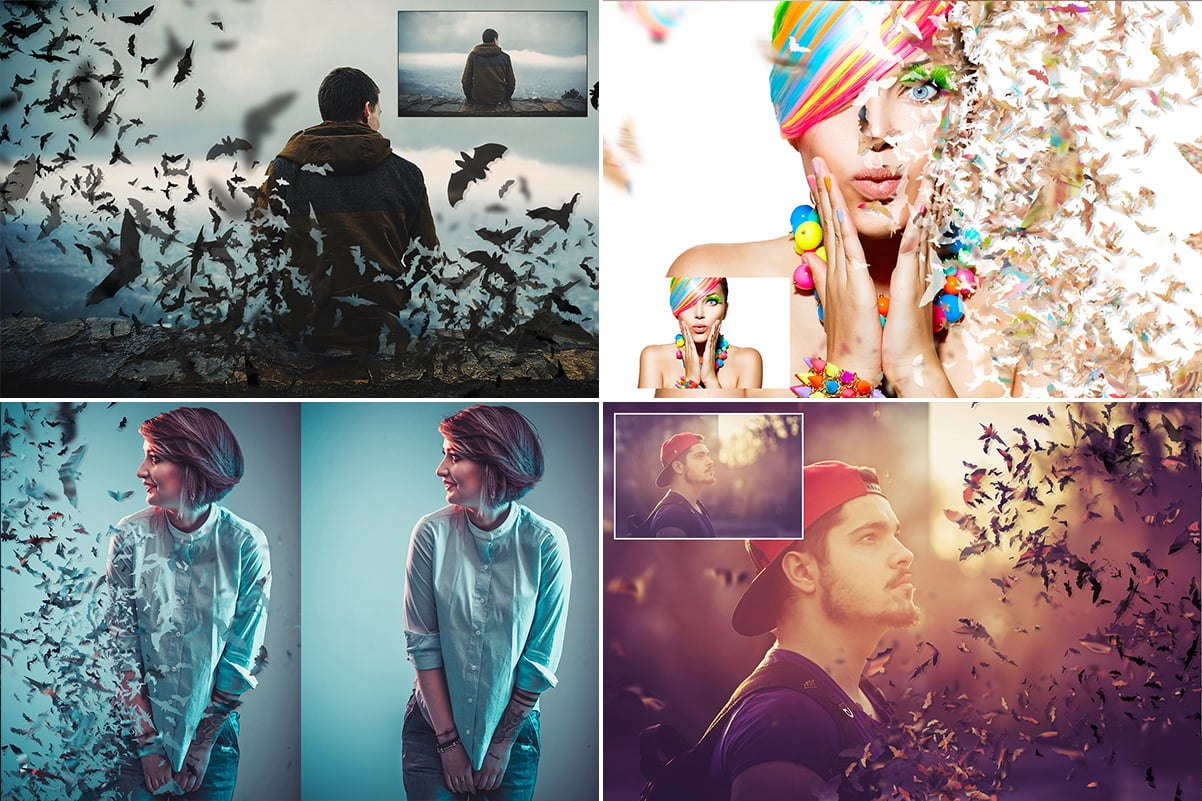 38 Dispersion PhotoShop Actions with 50% OFF - 28