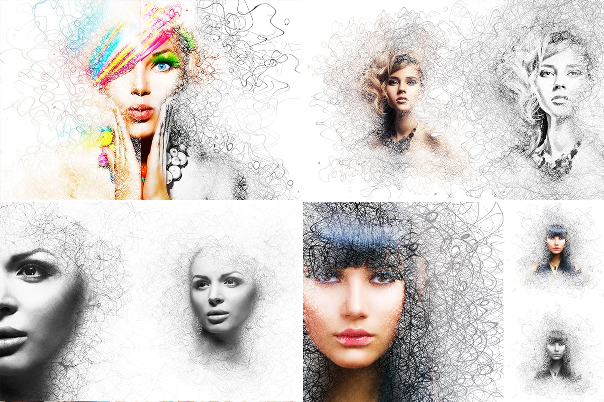 38 Dispersion PhotoShop Actions with 50% OFF - 29