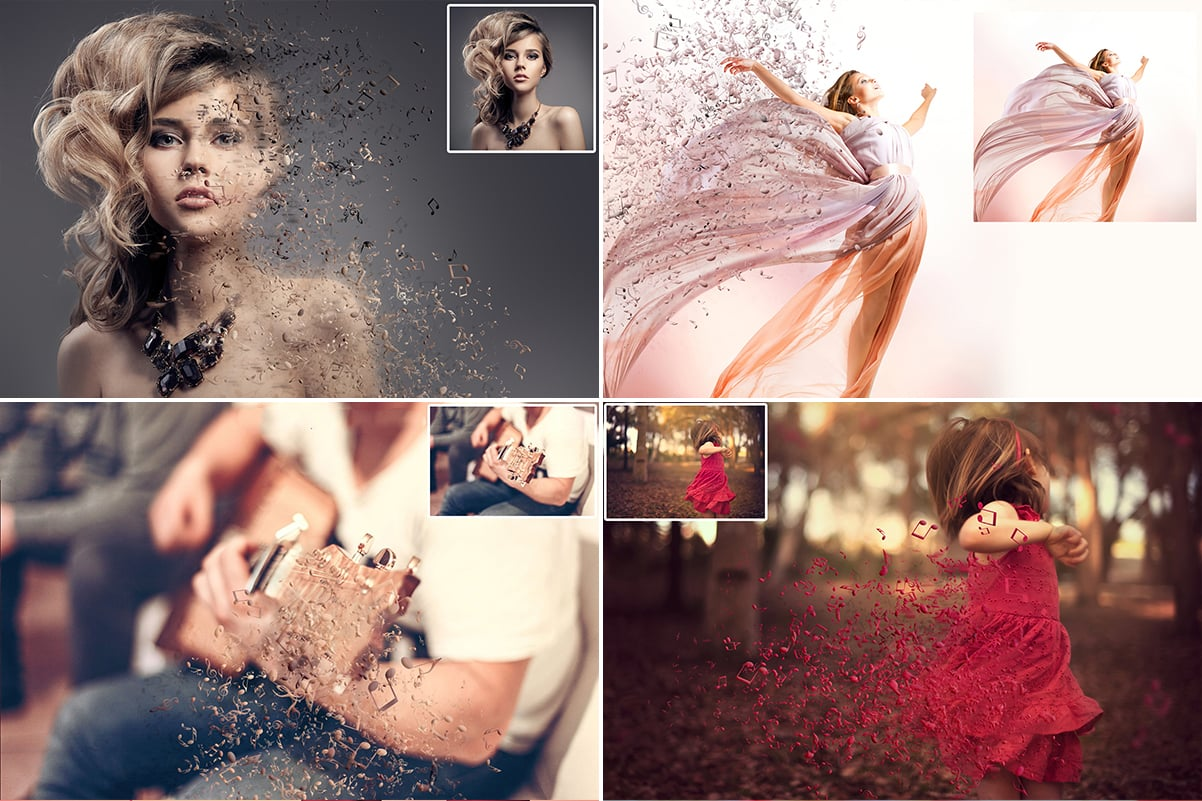 38 Dispersion PhotoShop Actions with 50% OFF - 30
