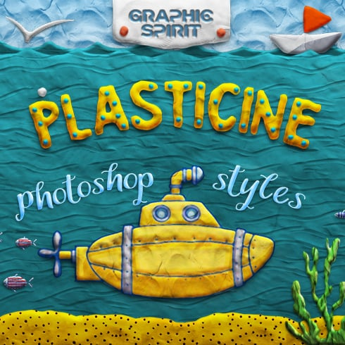 PLASTICINE Photoshop Toolkit - 490 1