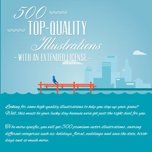 Get 500 Top-Quality Illustrations – Only $19 - 490x490 7