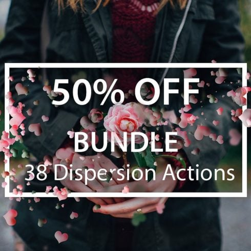 38 Dispersion PhotoShop Actions with 50% OFF - 50  490x490