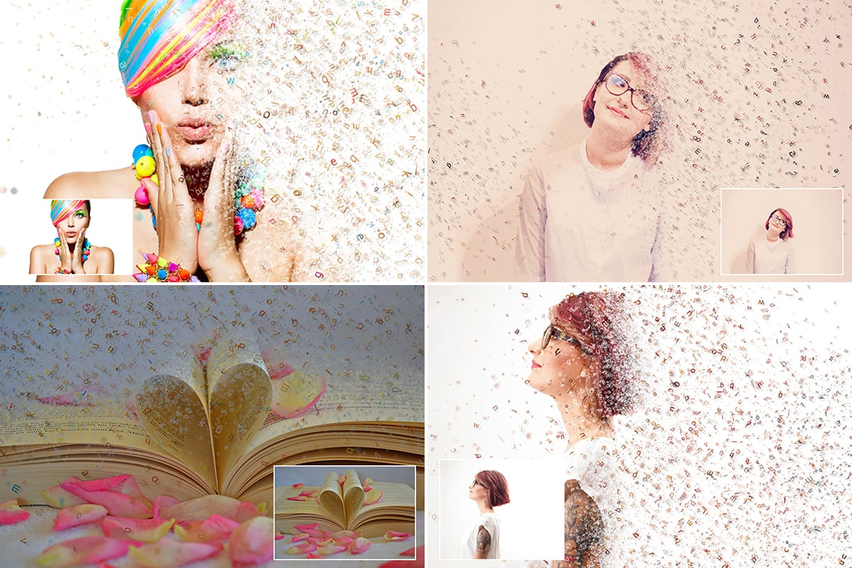 38 Dispersion PhotoShop Actions with 50% OFF - 8
