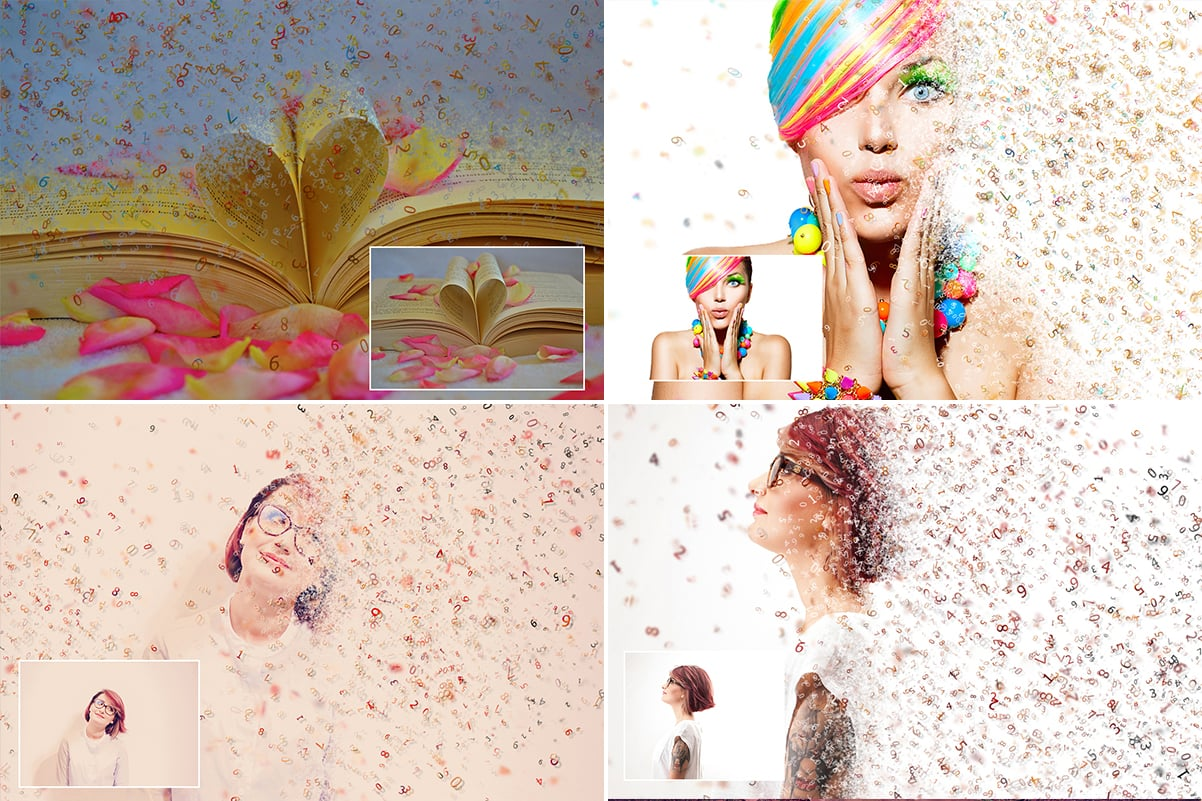 38 Dispersion PhotoShop Actions with 50% OFF - 9