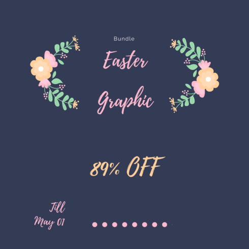 Easter Graphic Bundle - just $15 - Join us as we welcome into the family 490x490