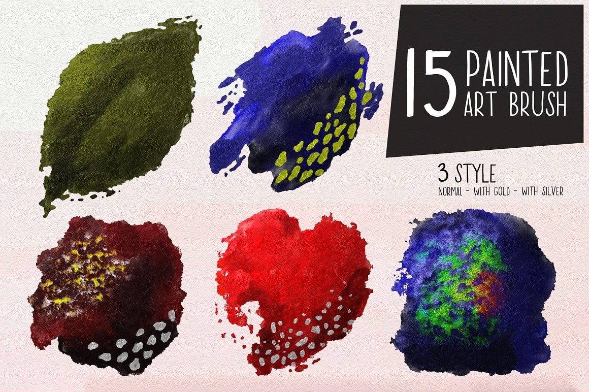 Fontbox - Elements for Web Design - Fonts, Logos, Watercolors - designs fontbox 10
