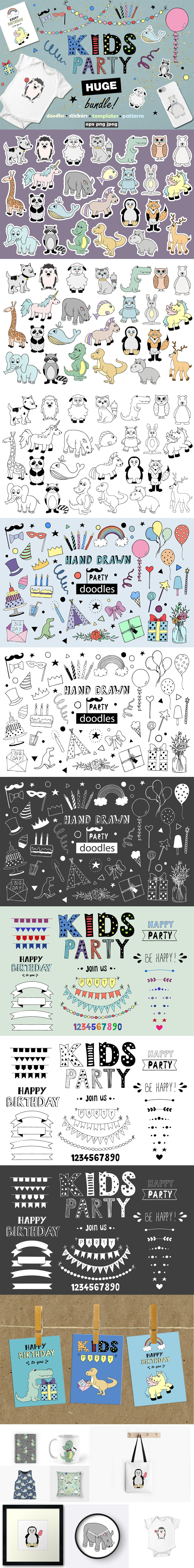 MEGA Bundle: 1500 New Vector Icons - full preview
