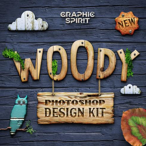 WOODY Photoshop Design Kit - only $19 - unnamed 1