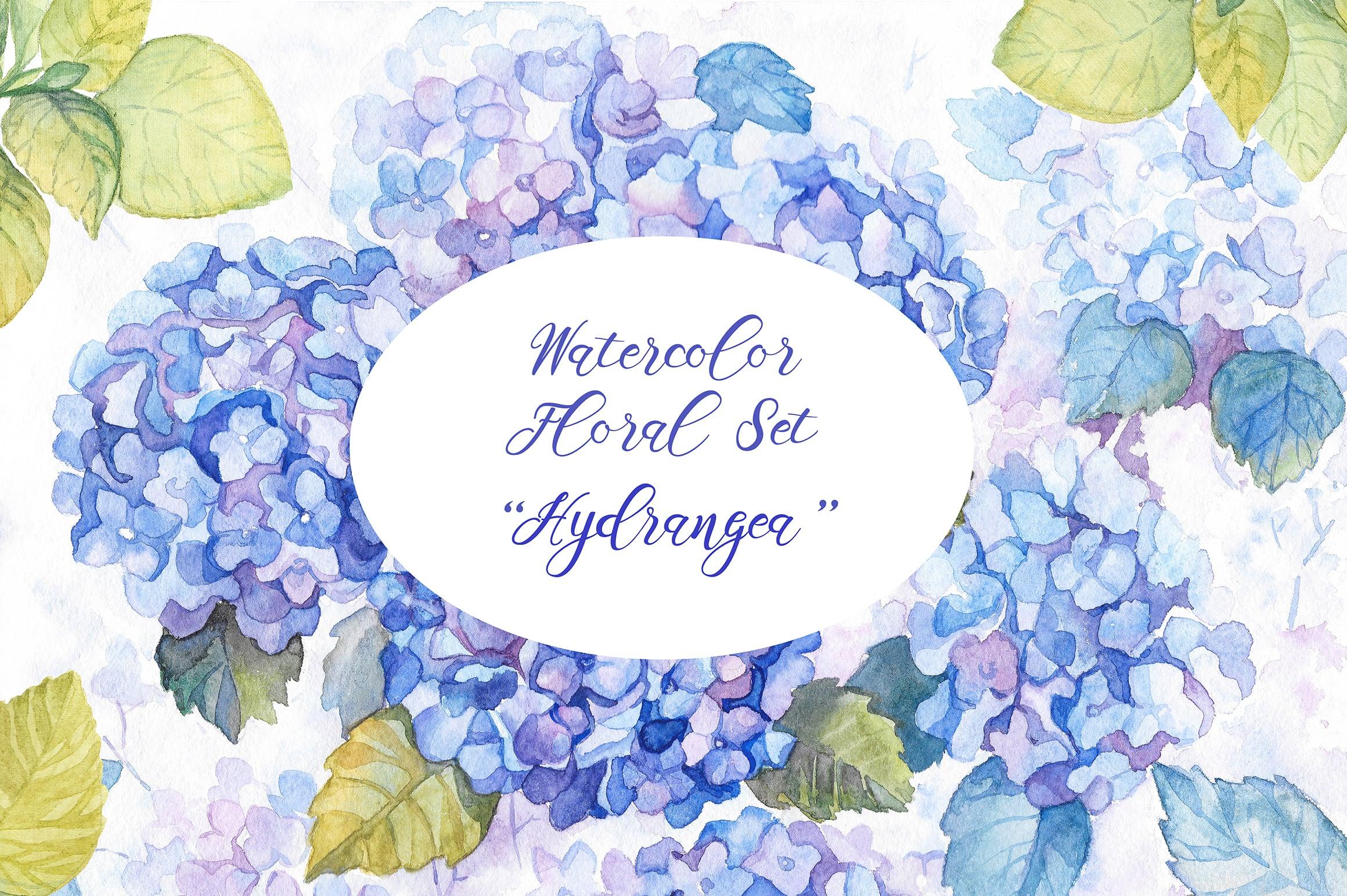 8 Watercolor Bestsellers Flower Sets Master Bundles