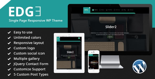 15 WordPress Themes Bundle with Extended License - Only $19 - 14 edge