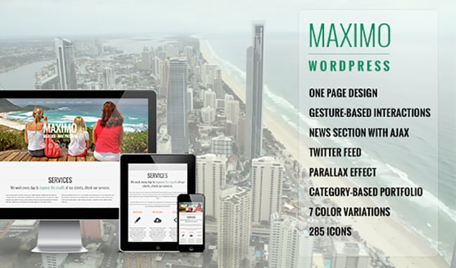 15 WordPress Themes Bundle with Extended License - Only $19 - 15 maximo