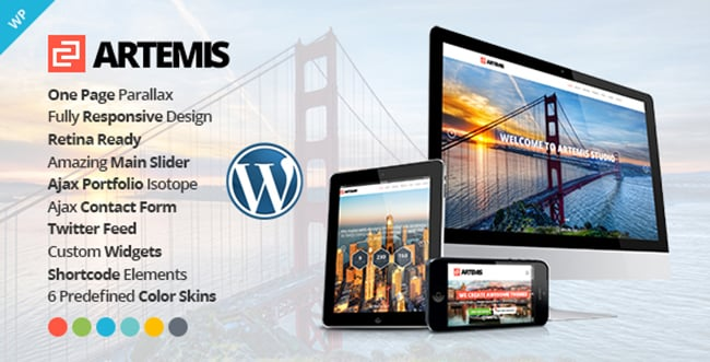 15 WordPress Themes Bundle with Extended License - Only $19 - 2 artemis