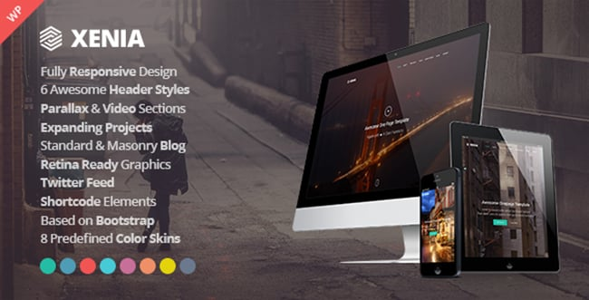 15 WordPress Themes Bundle with Extended License - Only $19 - 3 xenia