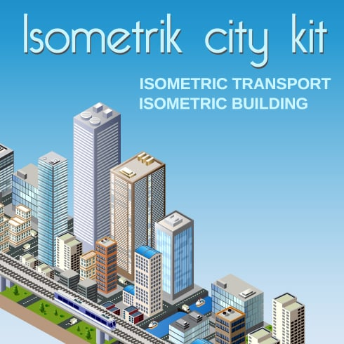 Isometric Art Bundle: Awesome Concepts with an Awesome Discount - 490 490