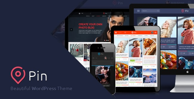 15 WordPress Themes Bundle with Extended License - Only $19 - 5 pin